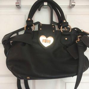 Handbags - Girly black handbag